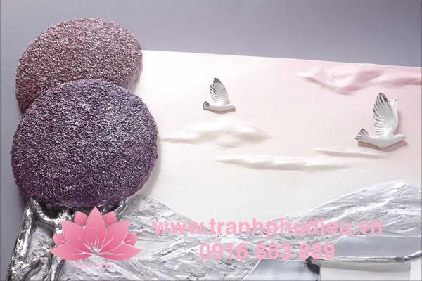 Tranh phù điêu 3D phong cảnh