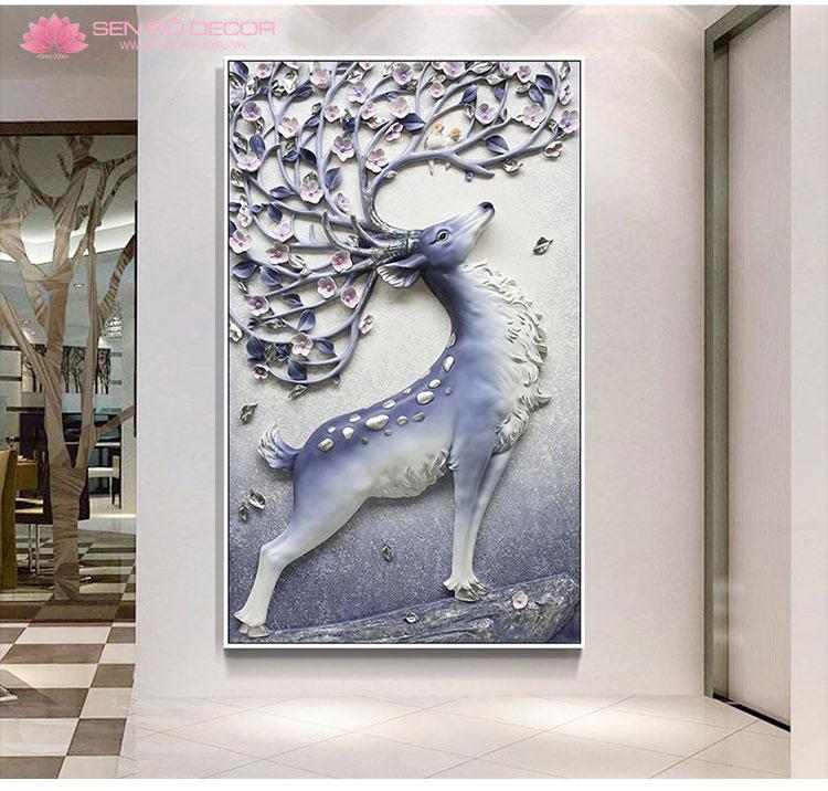 Trang treo tường tại Bắc Ninh - Tranh Treo Tường Phù Điêu composite ở Bắc Ninh