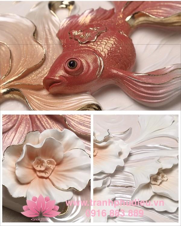 Tranh 3D cá vàng