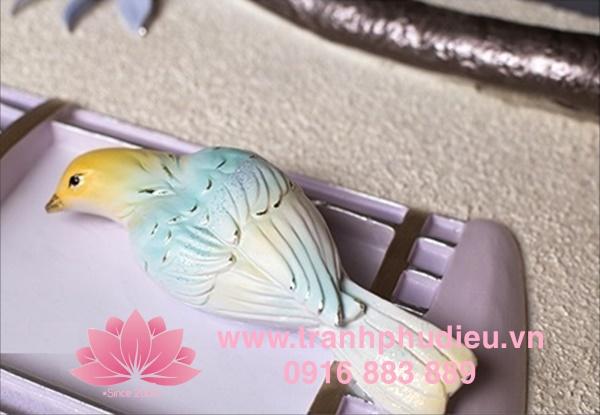 Tranh nhựa 3D giá rẻ Lồng chim