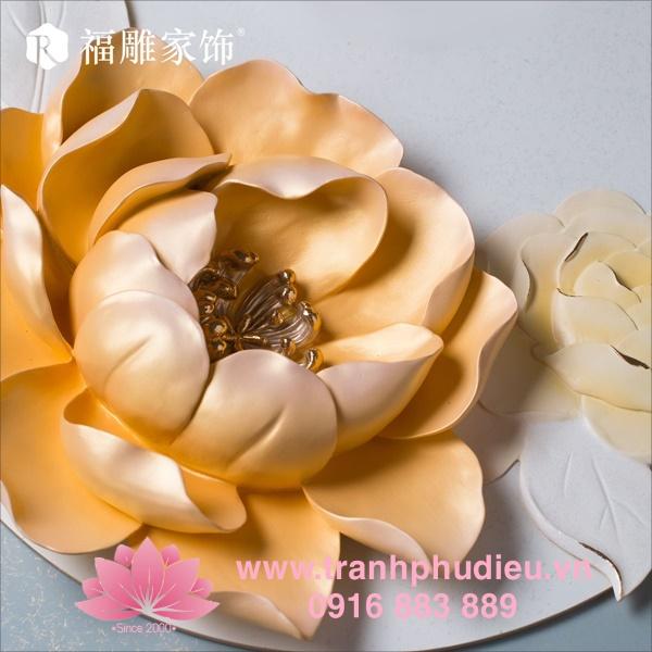 Tranh phù điêu hoa hồng