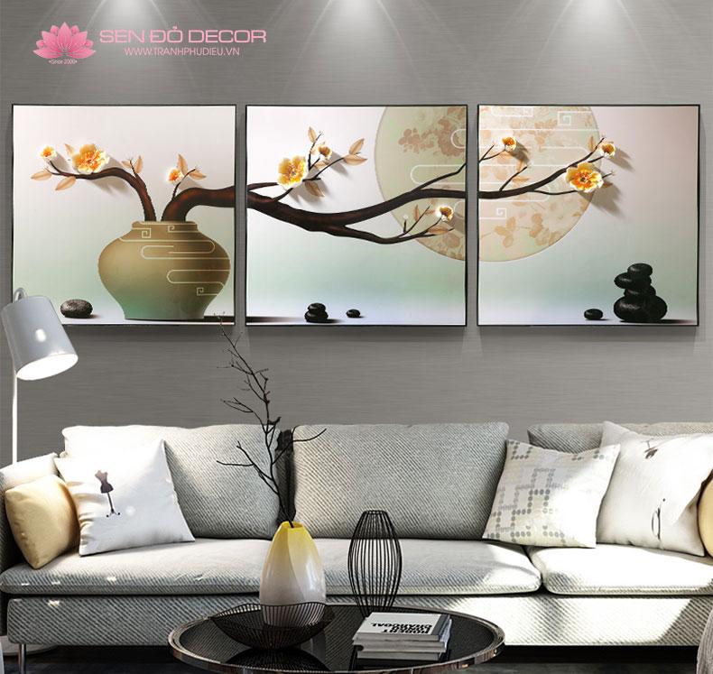 Tranh treo tường hiện đại - Tranh trang trí phòng khách hiện đại