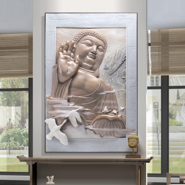 Tranh phù điêu Phật tổ Như Lai