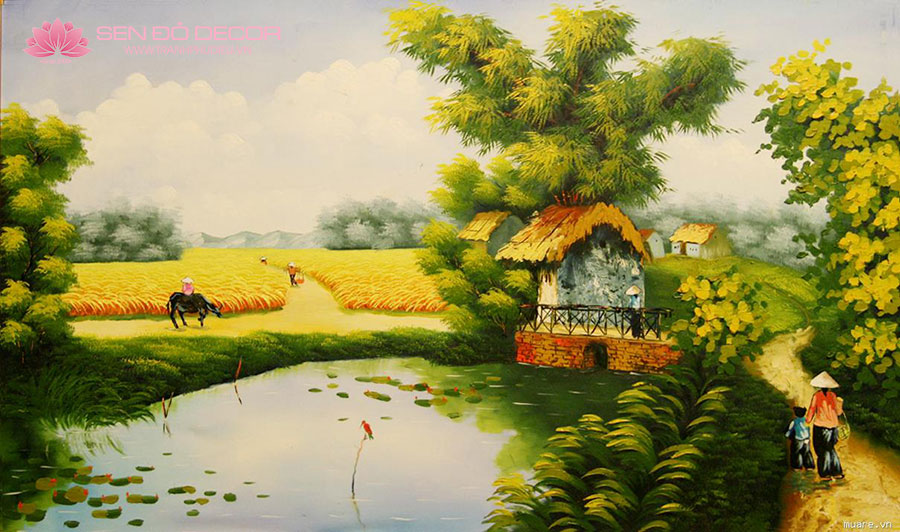 7 kinh nghiệm tìm địa chỉ mua tranh sơn dầu rẻ đẹp