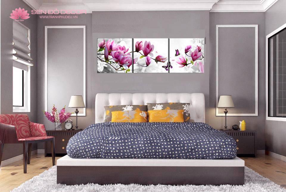 Top Mẫu Tranh treo tường phòng ngủ hiện đại, sang trọng 2019