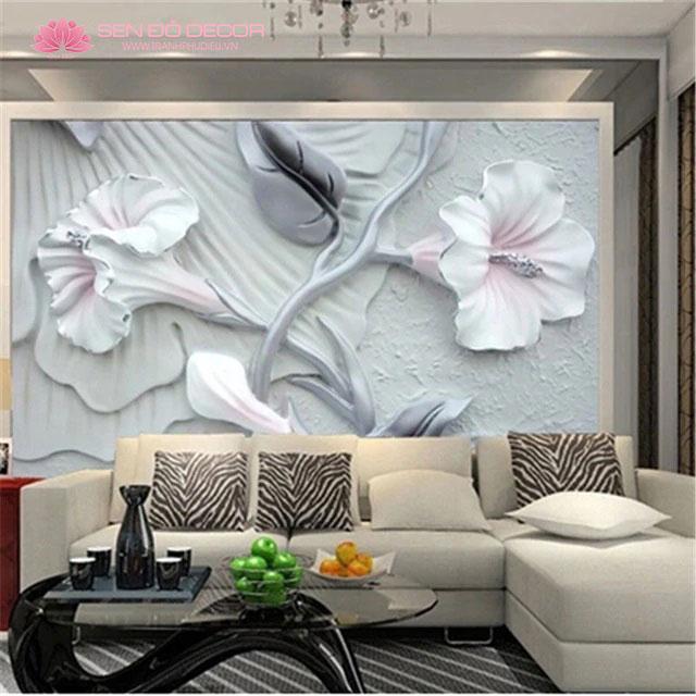 10 lưu ý khi chọn tranh nổi 3D phòng khách khổ lớn trang trí hiện đại
