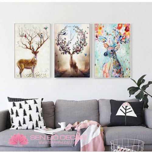 Top 50 mẫu tranh treo tường trang trí giá cực rẻ tại HCM