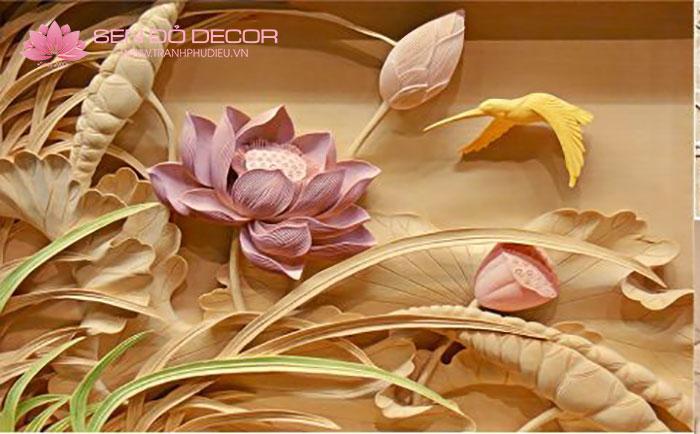 Tranh hoa sen đẹp Hà Nội - Tranh Treo Tường Hoa Sen Đẹp Nhất!