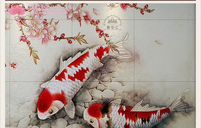 Top 30 mẫu tranh cá chép đẹp hợp phong thủy cho gia chủ