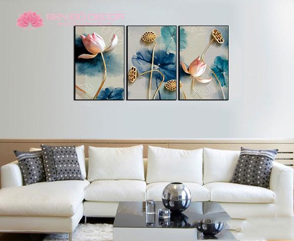 [TOP] Các Mẫu Tranh hoa sen 3D đẹp và Ý nghĩa phong thủy
