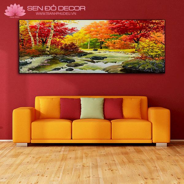 Các chọn kích thước tranh treo tường phù hợp không gian nhà bạn!
