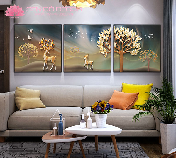 Tranh Phù Điêu: Tranh treo tường trang trí hiện đại cho mọi nhà