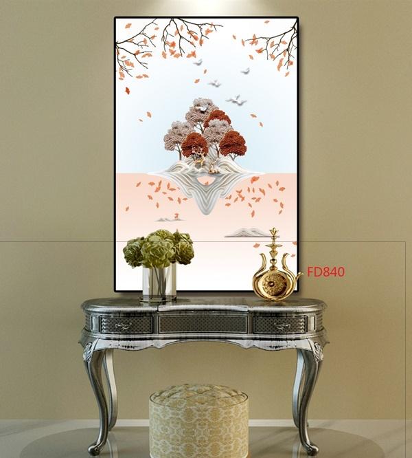Kinh nghiệm chọn các loại tranh treo tường phòng khách đẹp, sang trọng