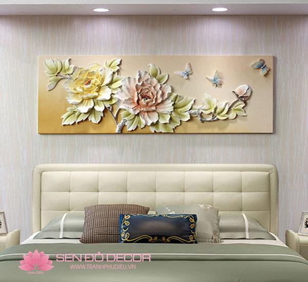 Top 50 Mẫu tranh phù điêu treo tường phòng ngủ đẹp năm 2020