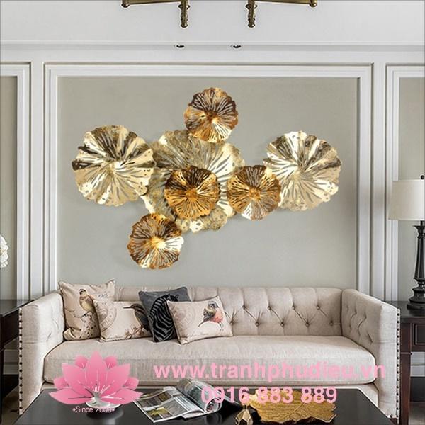 Tranh kim loại treo tường - Tranh chất liệu sắt trang trí nội thất mới lạ